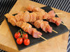 Chicken Sausage And Ham Kebabs (click for details)